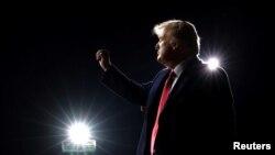 АКШ президенти Д. Трамп Жоржия штатынын Валдоста шаарында. 2020-жылдын 5-декабры.
