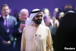 Sheiku Mohammed bin Rashid al-Maktoum.