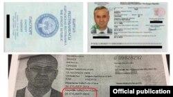 Милиция тараткан сүрөт. Инандынын паспорттору.