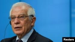 Верховный представитель Европейского союза по иностранным делам Жозеп Боррель.
