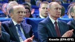 Vladimir Putin, alături de Aleksandr Bortnikov, director FSB pus pe lista sancțiunilor UE pentru implicare în otrăvirea lui Alexei Navalnîi