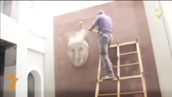 Islamic State Video Shows Destruction Of Antiquities
