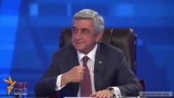 Սերժ Սարգսյանը չի հստակեցնում՝ ինչով է զբաղվելու 2018-ից հետո Նախագահ