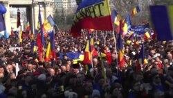 У Молдові тисячі людей відзначили 100-річчя об'єднання Бессарабії й Румунії (відео)