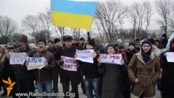 Хроники крымского сопротивления: митинг против ущемления свободы слова 10 марта 2014-го (видео)