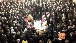В Гюмри прошла панихида по Сереже Аветисяну, убитому российским солдатом-срочником