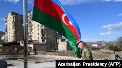 Azərbaycan Prezidenti İlham Əliyev Şuşada