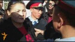 Дебош на пресс-конференции оппозиции