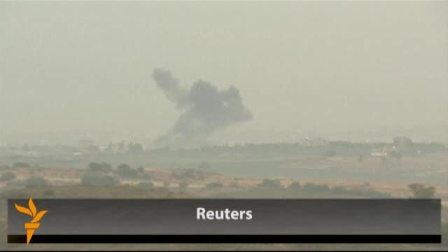 Conflict Between Israel And Gaza Militants Enters Its Seventh Day
