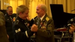 Аркестар арміі ЗША прывітаў вэтэранаў па-беларуску