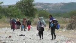 Migrantët në Maqedoni