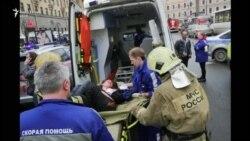 Pamje të viktimave të sulmit në metro