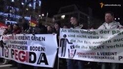 Дрезден розділений антиісламським маршем руху «ПЕҐІДА»
