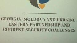 """Conferința Interparlamentară """"Georgia, Republica Moldova şi Ucraina: Parteneriatul Estic şi provocările de securitate curente"""""""