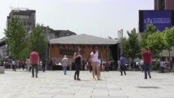 Festa e muzikës në Prishtinë