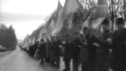 «Живий ланцюг» 21 січня 1990 року у Львові