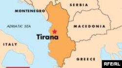 Албания картасы.