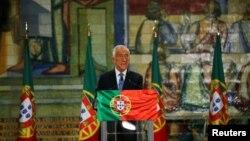 Președintele reales al Portugaliei, Marcelo Rebelo de Sousa