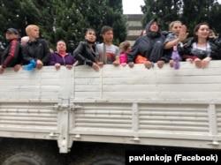Эвакуация жителей Ялты после наводнения