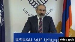 نیکول پاشینیان، نخستوزیر موقت ارمنستان