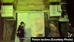 Видео с губернатором Ведерниковым на вечеринке в псковском клубе