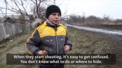 Home Schooling Amid A Military Standoff In Eastern Ukraine
