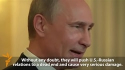 Putin: U.S. Sanctions Will Take Russia Relations To 'Dead End'