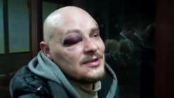 «Беркутавец» сарваў каску з надпісам «прэса» і пачаў біць па галаве — журналіст «Радіо Свобода»