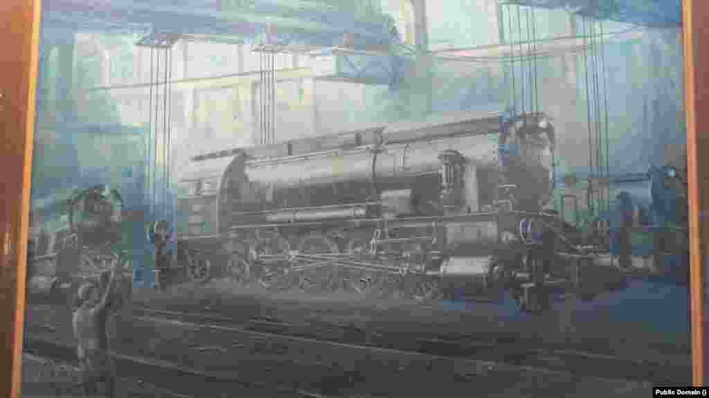 Locomotivă cu abur folosită la sfârșitul secolului XIX și începutul secolului XX de către CFR