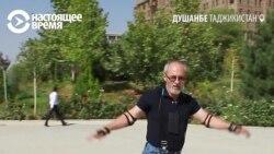 """""""Ненормальный"""" лонгбордист ломает стереотипы в Душанбе"""