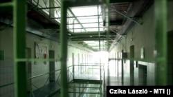 A Sopronkőhidai Börtön és Fegyház egyik folyosója. Fotó: Czika László - MTI