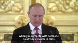 Putin Says Rio Medals Cheapened By Absence Of Russians