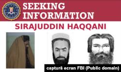Potrivit FBI, ministrul taliban de Interne, căutat pentru terorism, s-a născut în intervalul 1973 - 1980 în Afganistan sau Pakistan. Informațiile care duc la arestare sa sunt recompensate cu până la 10 milioane de dolari.