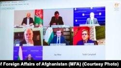 د افغانستان - امریکا - تاجکستان لومړنۍ درې اړخیزه ناسته وشوه