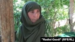 Zulqada Yunusova said her militant son, Muhammad Sharifov, is still in Afghanistan.