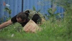 Мар'їнка: обстріл не за «розкладом» (відео)