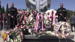 Tbilisi: Përkujtohen viktimat e luftës me Rusinë