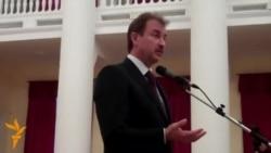 Попов розповів студентам про «конфіденційні» переговори Януковича з ЄС і «східним партнером»