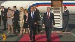 Ռուսաստանի նախագահը ժամանեց Երեւան