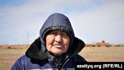 Житель села Айман Актан. 20 апреля 2021 года.
