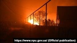 Пожежі на Луганщині, в перебігу і під час ліквідації яких загинули 11 і постраждали 18 людей, іще 150 осіб евакуювали, жовтень 2020 року