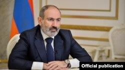 Armenia - Prime Minister Nikol Pashinian delivers a televised address to the nation, November 27, 2020