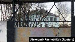 Владимирскан кIоштара ИК-3 колони. Цу кертарчу дарбан цIийнехь ву Навальный Алексей.