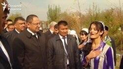 Ўзбек делегацияси Ўшга ташриф буюрди