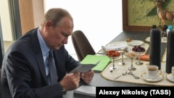 Владимир Путин на Байкале