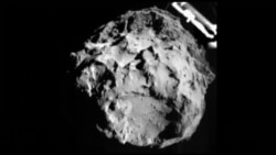 Кометаға модуль қонды