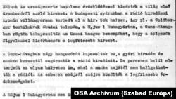 A SZER Rádiófigyelője feljegyezte az első emberi űrrepülésről szóló beszámolókat