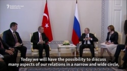 Putin Signals Thaw In Relations With Turkey During Erdogan Visit