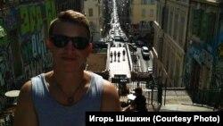 Игорь Шишкин после освобождения из колонии и отъезда из России