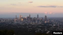نمایی از شهر بریزبن استرالیا